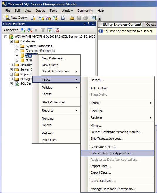 sql server management studio create data dictionary