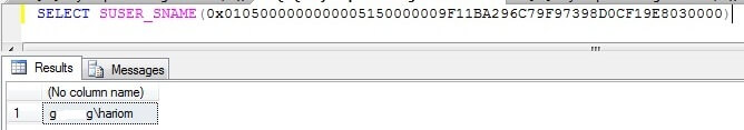 Finding a user who ran DROP statement for table location