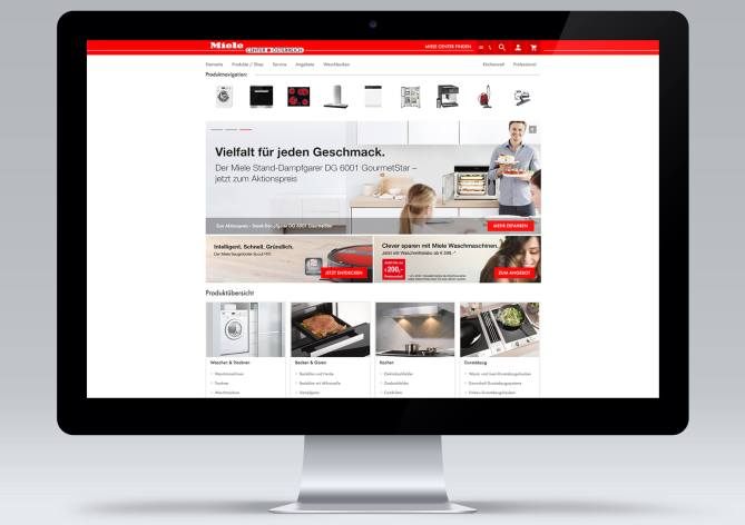 Miele Center Onlineshop