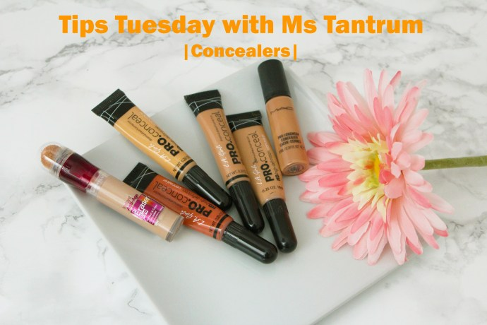 Tips tuesday - concealers