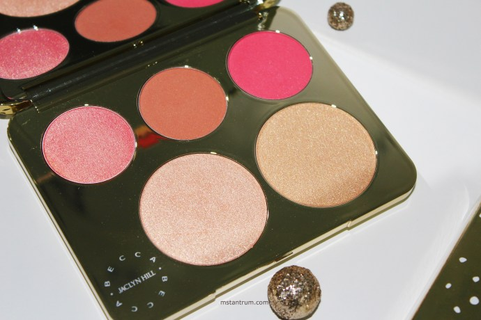 Becca x Jaclyn Hill Champagne collection face palette on mstantrum.com