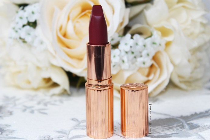 Charlotte Tilbury Matte Revolution lipstick in Bond Girl on mstantrum.com