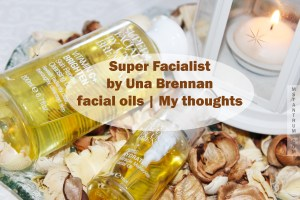 Super Facialist facial oils on mstantrum.com