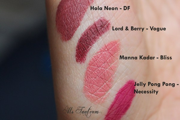 Lip Monthly January Bag Swatches