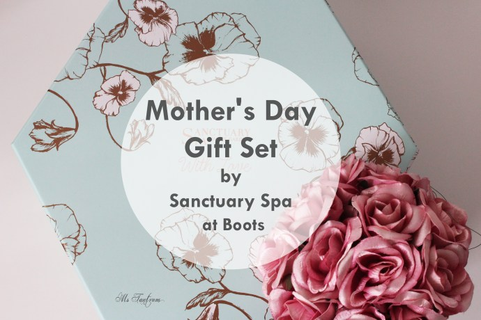 Mothers Day Gift set by Sanctuary Spa at Boots
