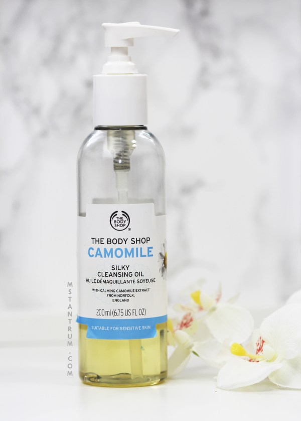 The Bodyshop cleansing oil