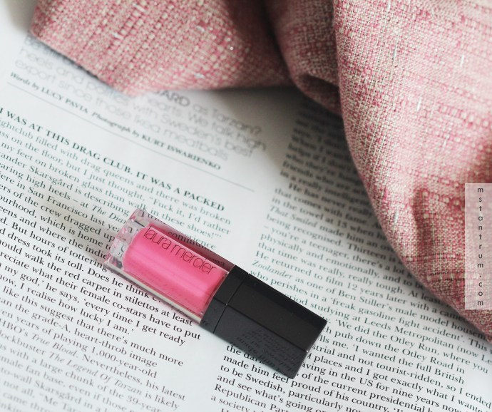 Laura Mercier Lip Glace - Pink Pop on http://www.mstantrum.com