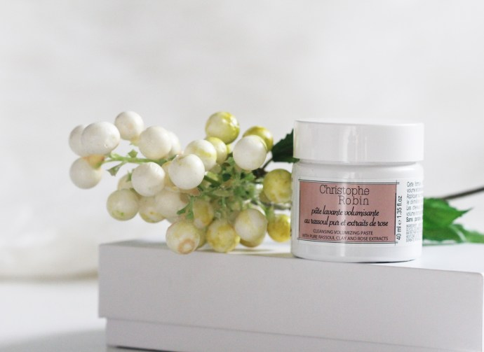 Christophe Robin Cleansing Volumising Paste review on Ms Tantrum Blog