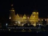 Szczecin wieczorem