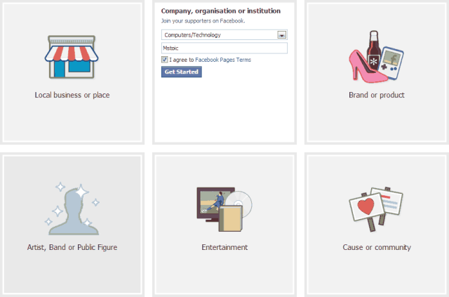 creating-a-Facebook-page-classification