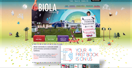 Biola University Admissions Site