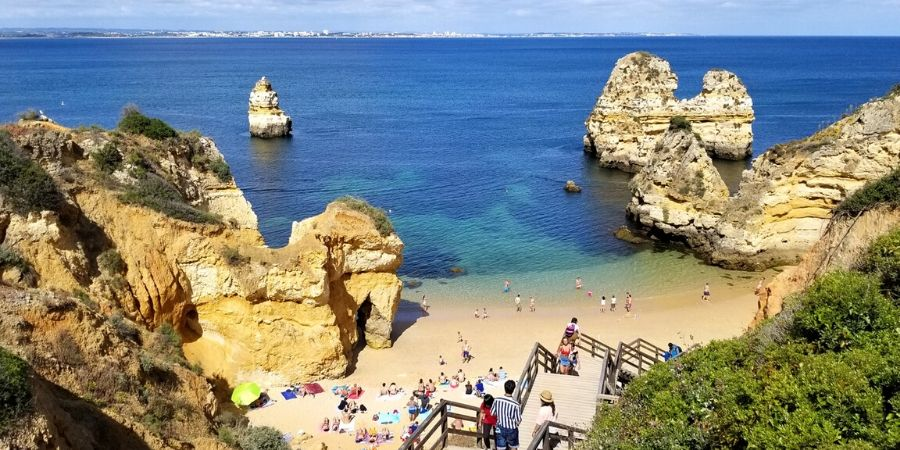 The Algarve is a must-see for all solo travellers in south of Portugal