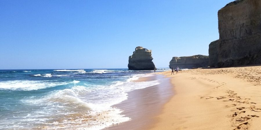 Gibson Steps is one of the prettiest beaches along Great Ocean Road