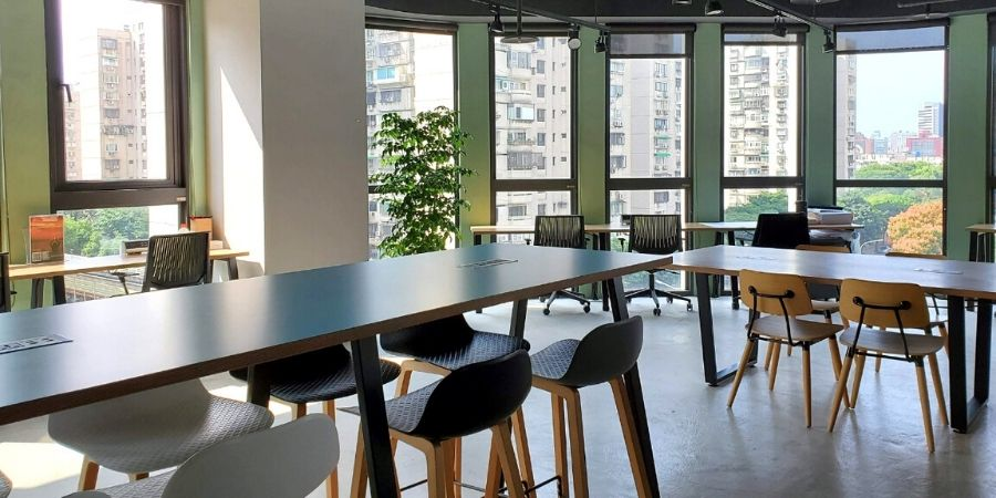 Kafnu Taipei has many workspaces perfect for any digital nomads