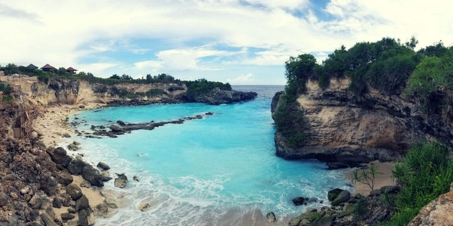 One day trip to Nusa Lembongan and Nusa Ceningan is possible with Scoot Cruise