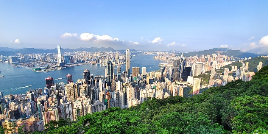 Victoria Peak Hike is the most scenic trail in Hong Kong and is a must-see attraction even if you only have a day or two in HK.