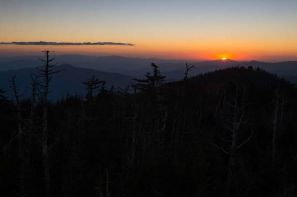 Sunset Clingman's Dome
