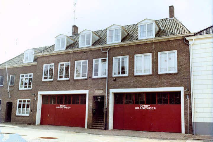 Verbouw brandweerkazerne tot woning en bedrijfspand