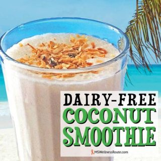 Dairy Free Coconut Smoothie