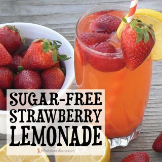 Sugar-Free Strawberry Lemonade