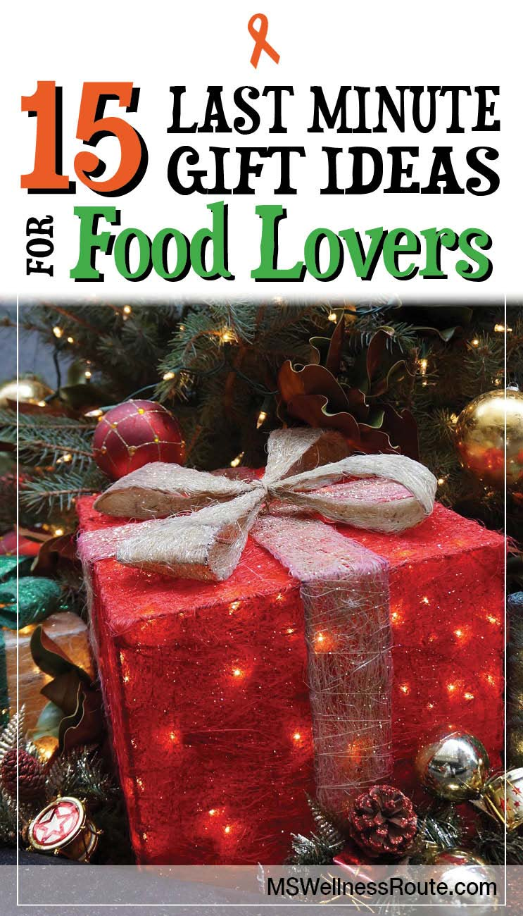 15 last minute gift ideas for food lovers ms wellness route Christmas gift ideas for cooking lovers