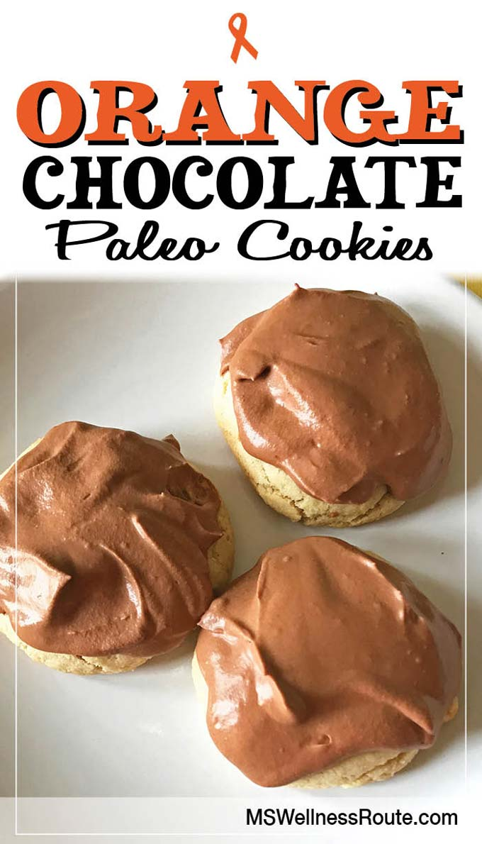 Orange Chocolate Paleo Cookies - MS Wellness Route