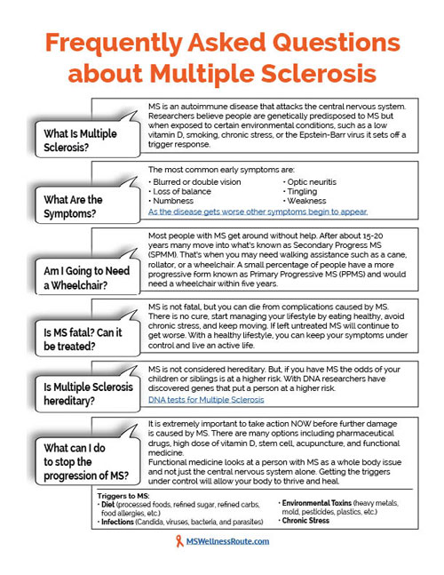 Numbness Tingling Most Commonly Reported Initial MS Symptoms