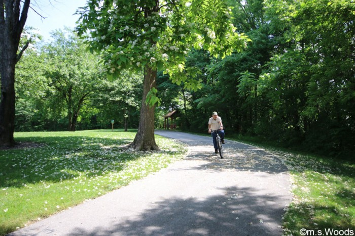 bicyclist-ride-through-asa-bales-park-westfield