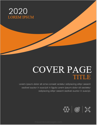 The color combination for a colored front page should be appropriate since your assignment is the representative of your own mind. 5 Best Report Cover Page Designs For Ms Word Ms Word Cover Page Templates