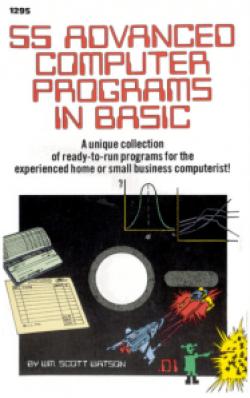 55a Advanced Computer Programs in BASIC - Portada