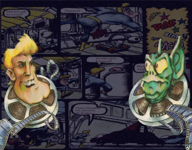 MSXArt'unlimited - Freddy Hardest