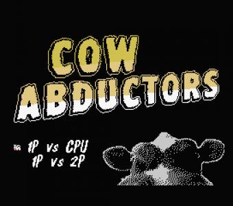 Cow Abductors - Pantalla de título
