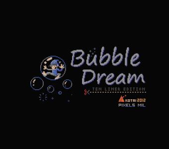 Bubble Dream (Kotai, 2012)
