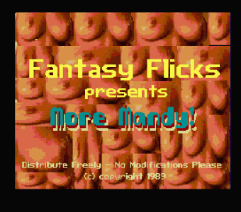 More Mandy (Fantasy Flicks, 1989)