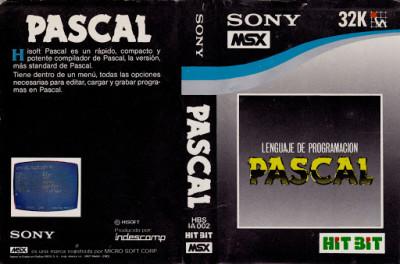 Pascal (Hisoft, 1984) (Caratula completa)