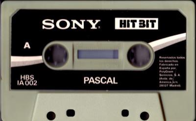 Pascal (Hisoft, 1984) (Cinta de casete)