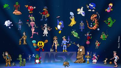 MSX Gaming Legend Tribute (MSX)
