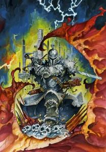Alfonso Azpiri - Lámina A4 para Dark Souls II