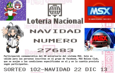 Loteria de Navidad 27683