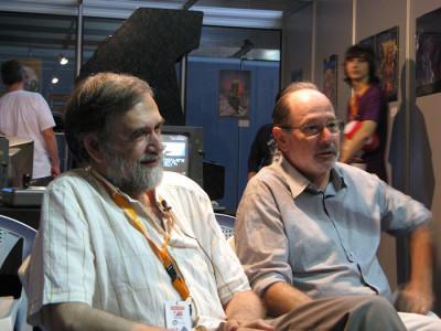 Paco Suárez y Paco Portalo (fuente: Retroacción)
