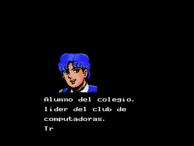 Shalom (Konami, 1987) (MSX2 version by Ramones) (2)
