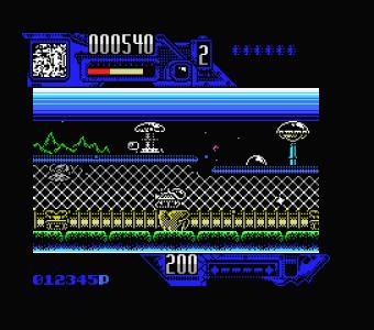 Comando Tracer (Dinamic, 1988) 001