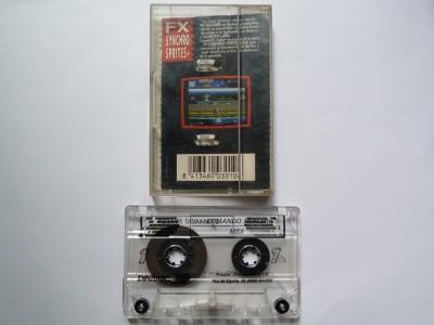 Comando Tracer (Dinamic, 1988) (Casete y cinta)