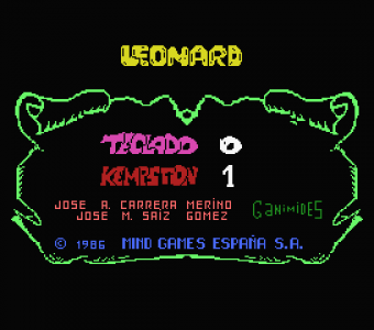 King Leonard (Mind Games Espana, 1986) (1)