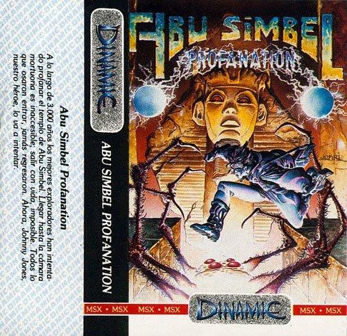 Carátula de Abu Simbel: Profanation