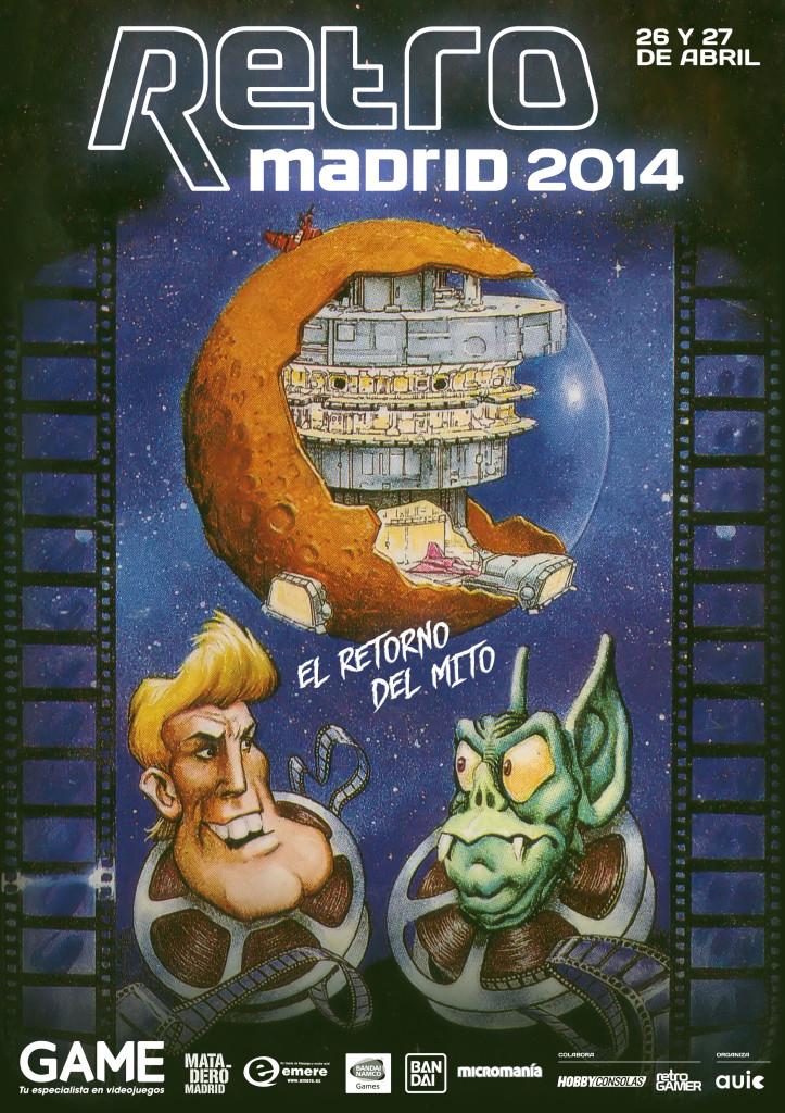 Cartel de RetroMadrid 2014