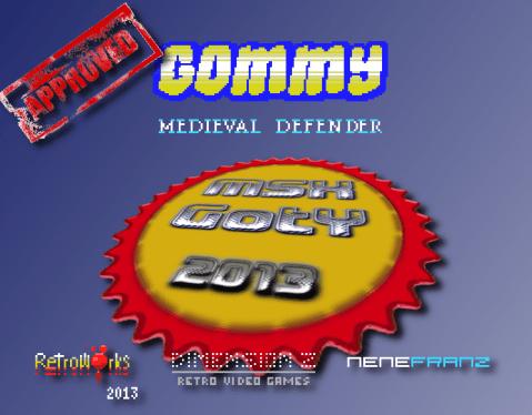 Gommy MSX GotY 2013