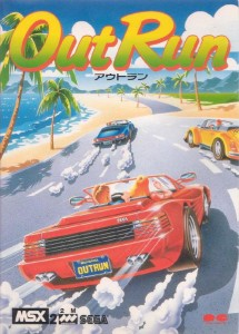 Out Run (version MSX2)