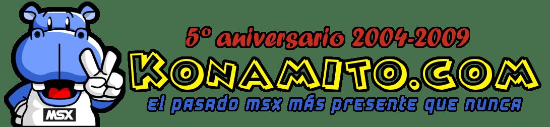 Cabecera de Konamito.com (5º aniversario)