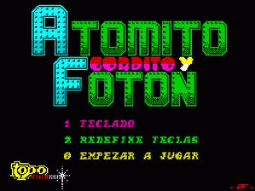 Atomito Gordito y Foton (Mockup)